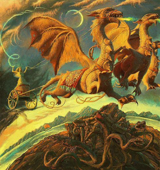 Medea on Dragons