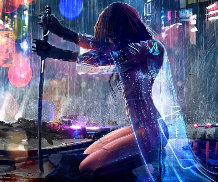 410728-women-warrior-artwork-sword-rain-cyberpunk-Cyberpunk_2077-748x626.jpg